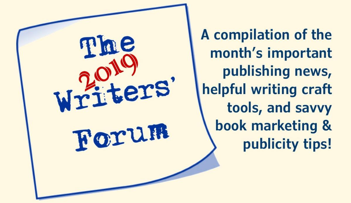 The March 2019 Writers' Forum -- All the writing craft hints and indie publishing tips you need to know.