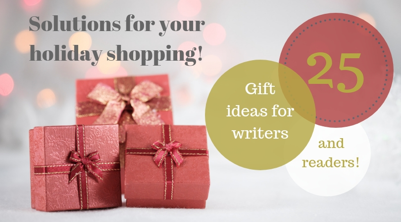 25 Gift Ideas for Readers & Writers