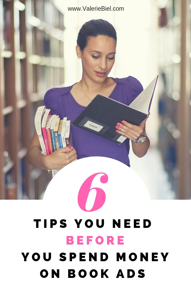 Six tips before you begin advertising your books!