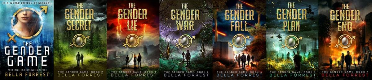The Gender Game Series Book Covers