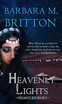 Heavenly Lights - Noah's Journey by Barbara M. Britton - five star review