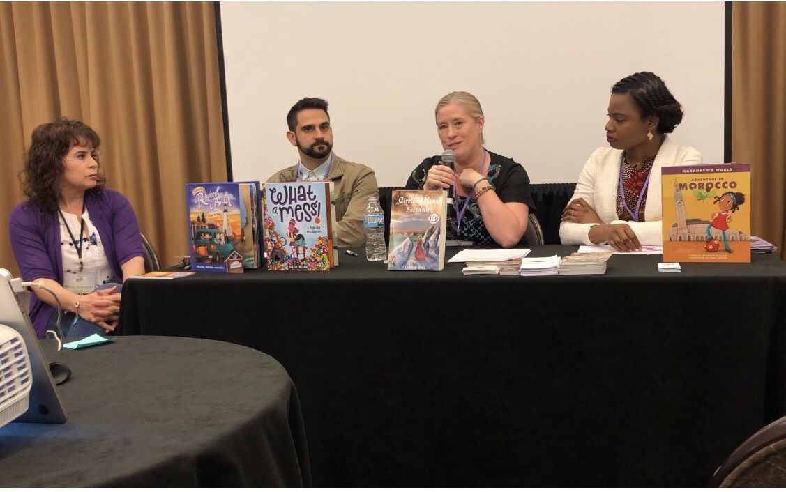 Indie Publishing Panel with Silvia Acevedo, Keith Allen, Valerie Biel, and Christine Mapondera-Talley - SCBWI ROCKS!