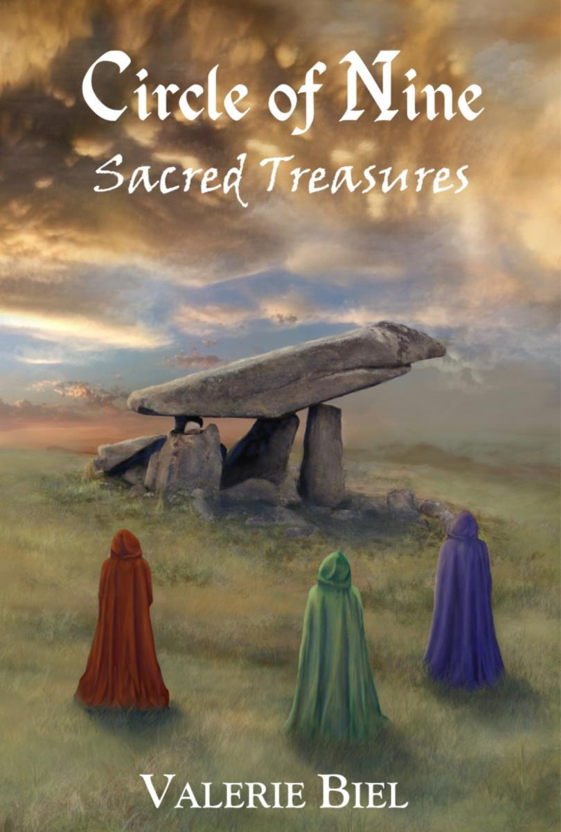 During These Crazy, Busy Weeks, I Am Also Preparing For The Launch Of The  Final Novel In The Circle Of Nine Series: Circle Of Nine €� Sacred Treasures