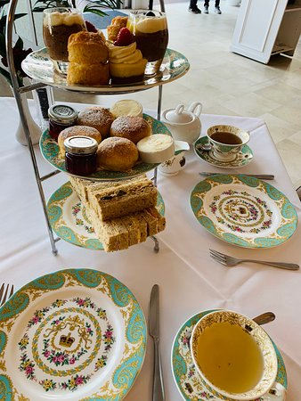Afternoon tea in the Orangery