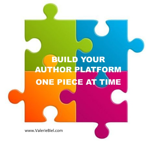 Build Your Author Platform - One Piece at a Time