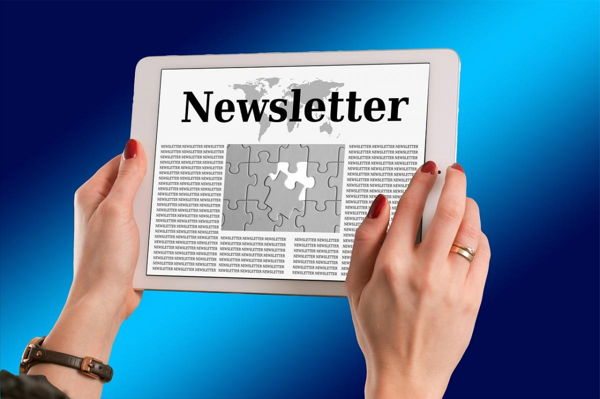 Newsletters can be interactive - ask questions of your readers