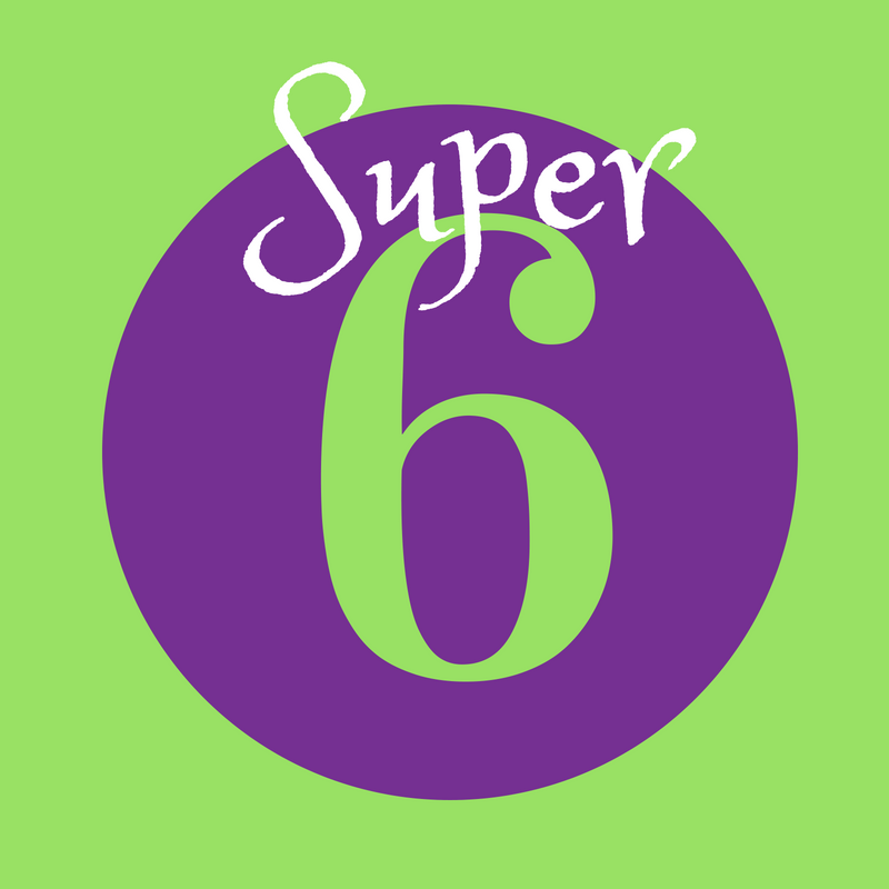 Author Rochelle Groskreutz's Super Six Answers