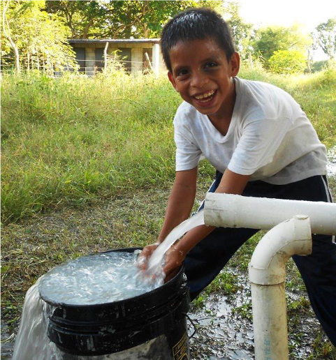 At the World Orphan Fund we often dig wells or provide filtration systems so the water is safe for the children.